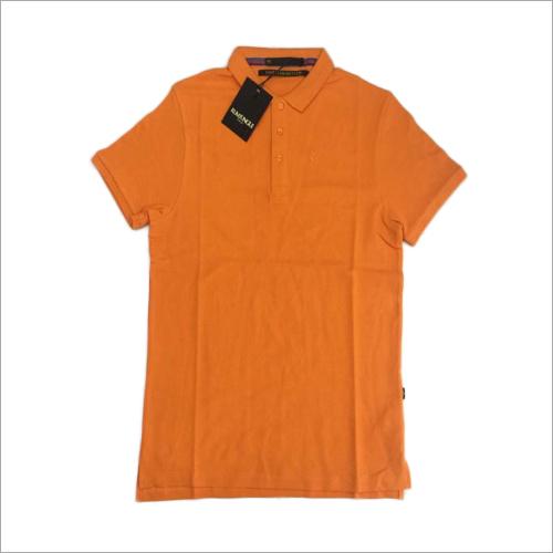 Cotton Plain Polo T-Shirt