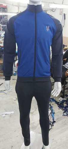 Mens Blue Sports Tracksuit
