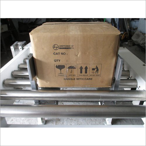Electric Carton Box Auto Centering Machine