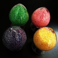 Coloured perfume beads