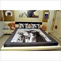 Half N Half Digital Printed Bedsheet