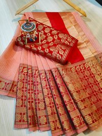 Jacquard Cotton Saree