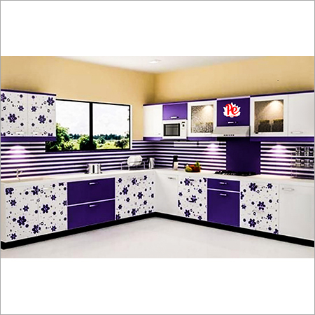 Printed Modular Kitchen