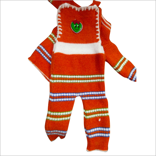 Girls Woolen One Piece Suit