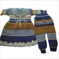 Girls Woolen Sweater Suit