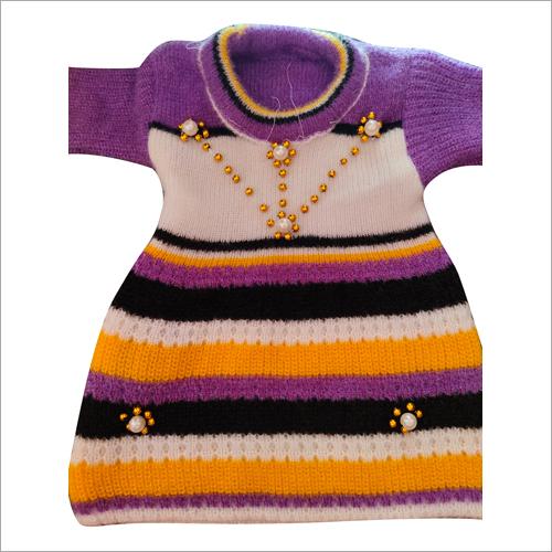 Girls Trendy Woolen Sweater