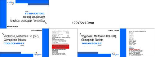 VOGLIBOSE +GLIMPRIDE+METOFORMIN SR