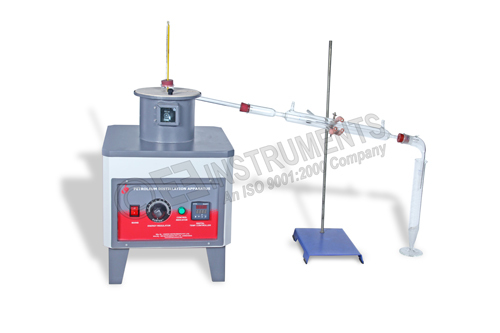 Apparatus For Distillation of Cut Back Bitumen
