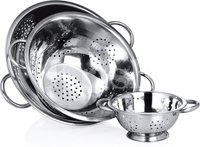 Deep Colander with Pipe Handle