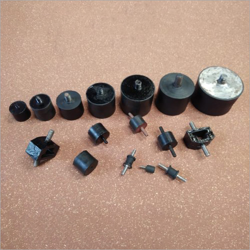 Rubber to Metal Bonded Isolator