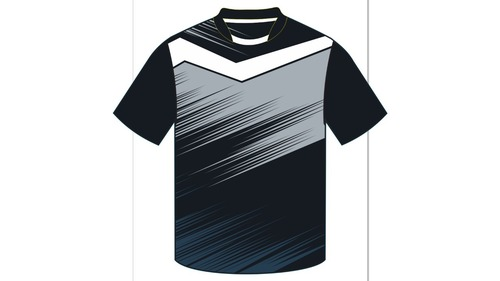 Mens Half Sleeve Sports T-Shirt