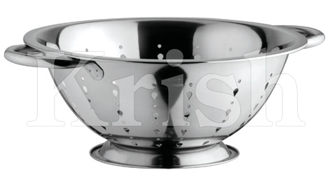 Deep Colander with Diamond Cutting