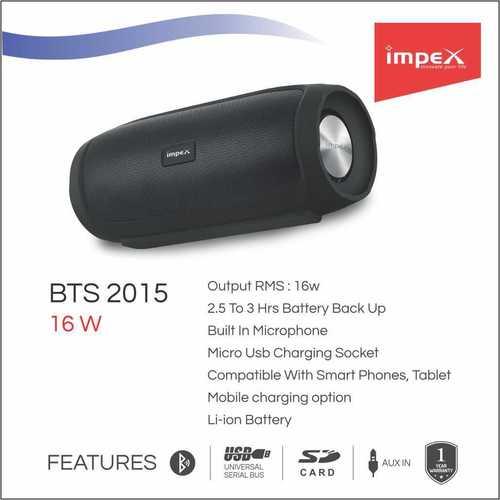 IMPEX speaker system 2.0 (BTS 2015)