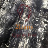 PVC clear blister trays on bales scrap plastic Post Industrial Waste