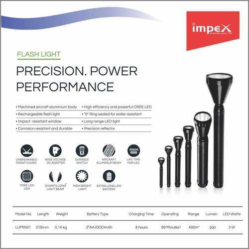 IMPEX LED Flash Light (LUMIN X1)