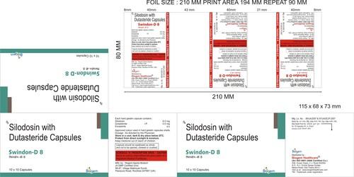 SILODOCIN8MG +DUTASTERIDE 0.5 MG
