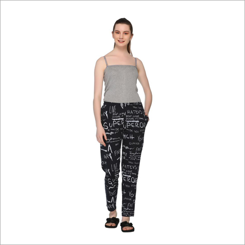Ladies Printed Casual Lower