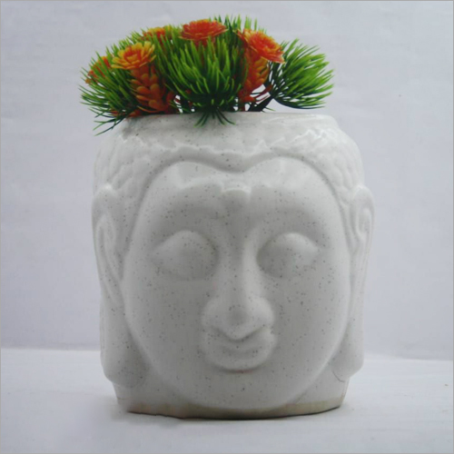 Ceramic Buddha Planter
