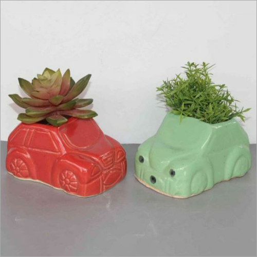 Car Shape Flower Planter