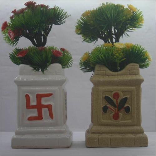 Tulsi Ceramic Pot