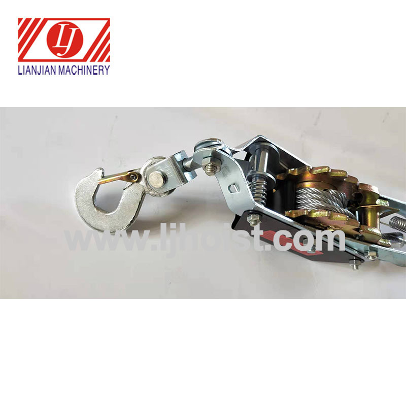 Portable Hand Cable Ratchet Puller SL-ZD2000