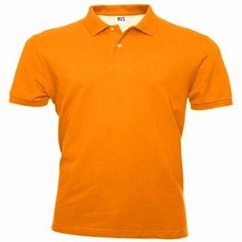 Orange Collar T Shirt