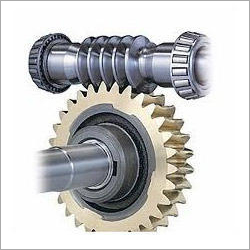 Worm Gear Shaft And Worm Wheel