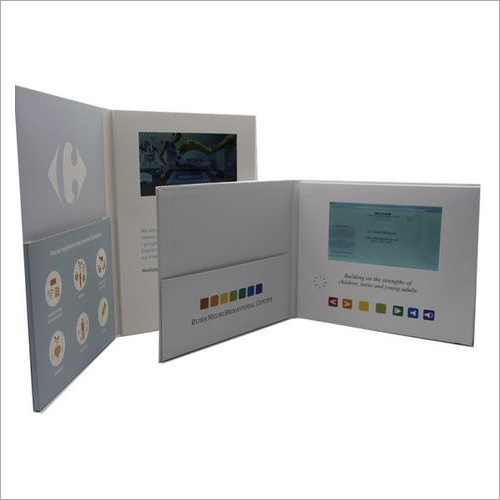 Printed Corporate Video Brochure