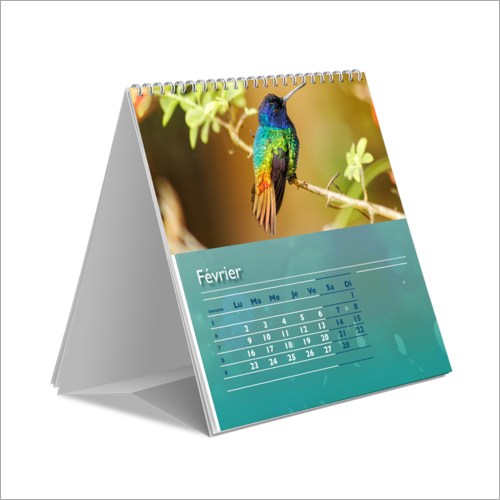 Printed Table Calendar