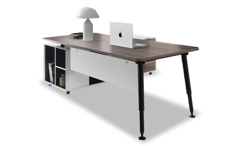 cabin table with workstations