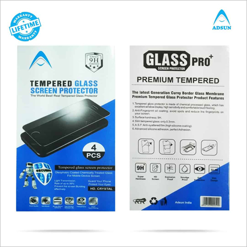 Tempered Glass Compatible with 0ppo F9 Pro (Pack of 4)