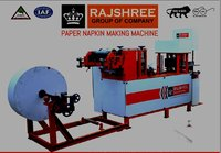 Fully automatic multi size tissue napkin making machine
