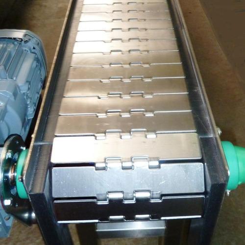 SS SLATE chain conveyor