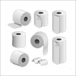 White Toilet Tissue Paper