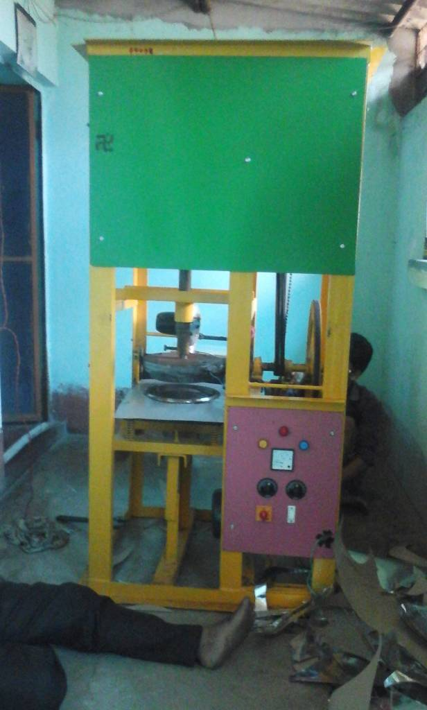 New Single Die Automatic Paper Plate Making Machine