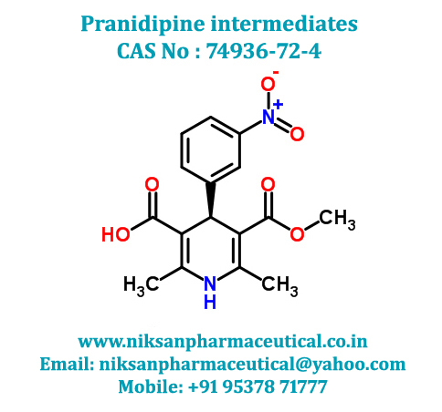 PRANIDIPINE INTERMEDIATE