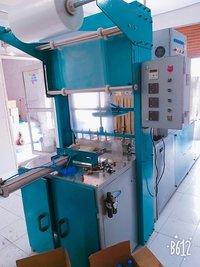Semi heat shrink packing machine