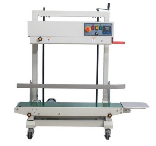 Band sealer 15 kg pouch packing machine