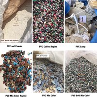 Pvc Soft Lumps Scrap Plastic Pvc Film Production Post Industrial Waste