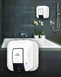 Sapphire Square Shape Water Heater With Decorative Panel Insert