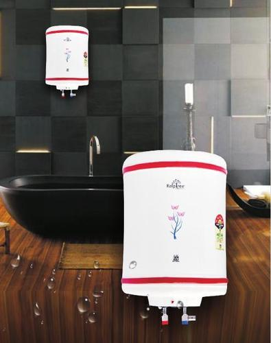 Garnet Conventional Cylindrical Shaped Water Heater With Metal