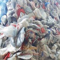 Polyethylene Terephthalate PET Blister On Bales post industrial plastic scrap