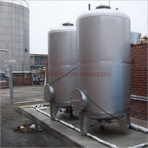 SS Paint Coated Storage Tank