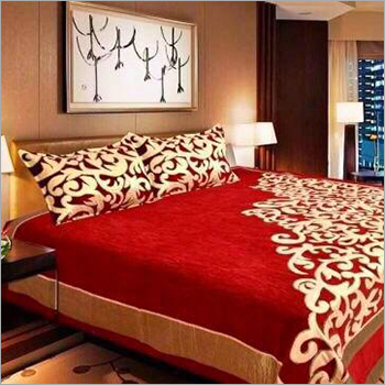 Chenille Fabric Bed Sheet