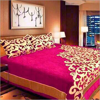 Chenille cotton Fabric Bed Sheet