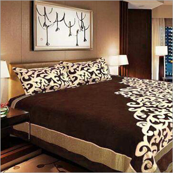 Pure Chenille Double Bed Sheet