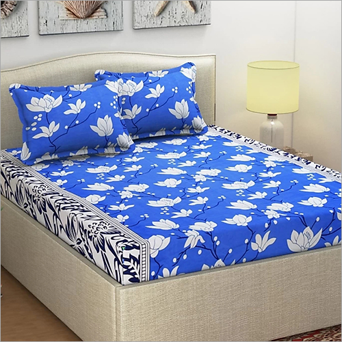 Floral Print Fancy Bed Sheet