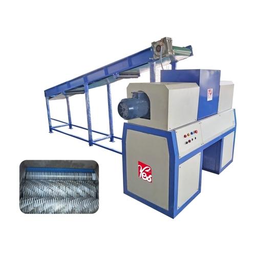Municipal solid Waste Shredder Machine