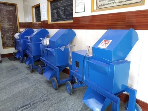 Vegetable Waste Shredder Machine
