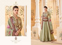 SILK LONG READY MADE GOWN STYLE SALWAR KAMEEZ